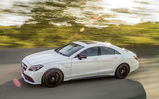 Noua generaţie Mercedes-Benz CLS vine în 2018: mici modificări de design şi platformă similară cu Clasa E