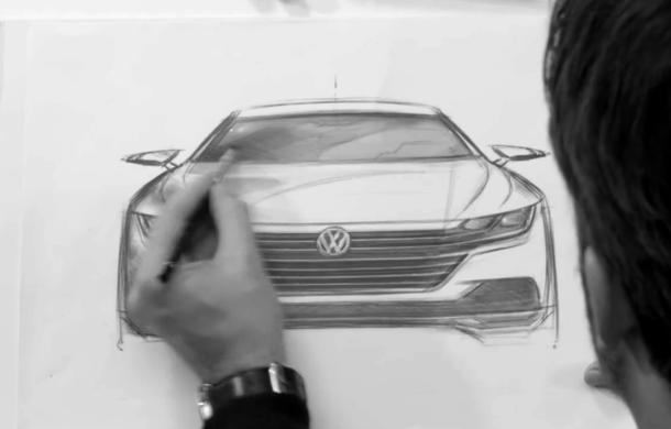 Iese Passat CC, intră Arteon: Volkswagen Arteon este numele noului coupe cu patru uși din gama mărcii germane - Poza 2