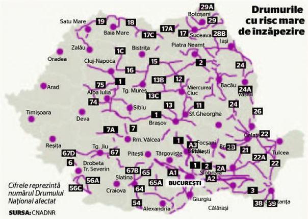 Ne pregătim de iarnă: trei sferturi dintre drumurile naţionale şi autostrăzi riscă să fie blocate dacă ninge abundent - Poza 2
