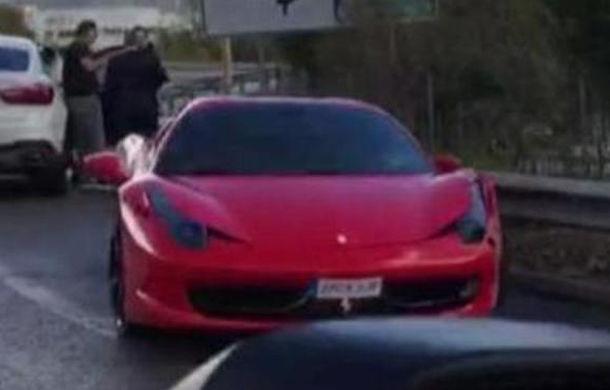 Neadaptarea vitezei face o victimă celebră: fotbalistul Neymar, implicat într-un accident cu un Ferrari 458 Spider (VIDEO) - Poza 1