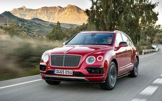 """Șeful Bentley: """"Din 2018 vom facem versiuni hibride pentru cei care vor să ajungă cu mașina la un hotel de cinci stele aflat în centrul orașului"""""""