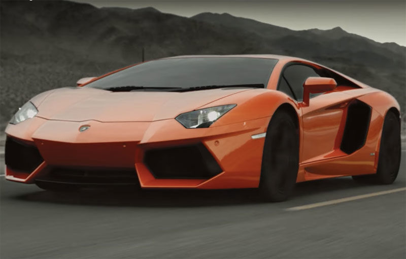 Lamborghini se joacă cu imaginația noastră: un clip video anunță lansarea lui Aventador facelift - Poza 1