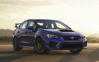Un clasic se reinventează: Subaru Impreza WRX STI primește un facelift prezentat în SUA