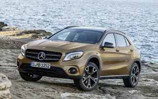 Mercedes GLA şi Mercedes GLA 45 AMG primesc un facelift minor: design restilizat şi ecran de 8 inch în standard