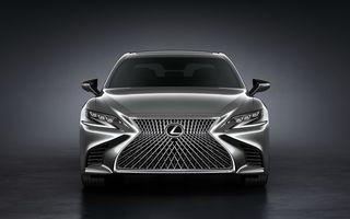 Lexus LS reîncărcat: japonezii prezintă oficial a cincea generație a limuzinei prin excelență
