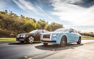 Bogații lumii au îngroșat conturile Bentley și Rolls Royce: ambele branduri au avut un 2016 record