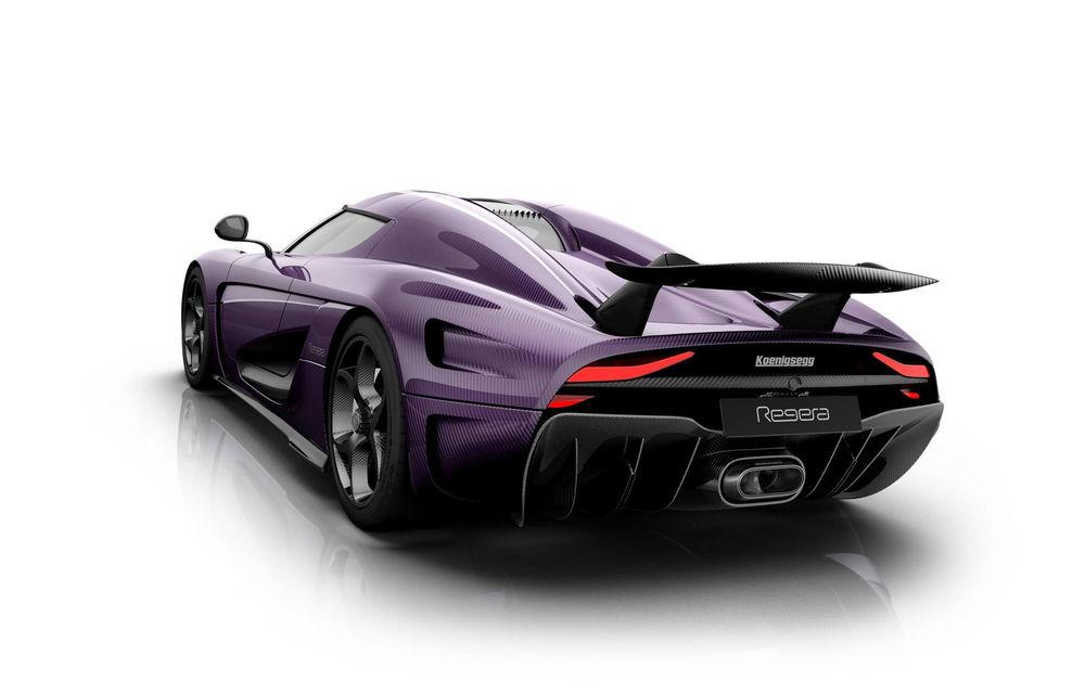 Prince și melodia Purple Rain, singurele motive pentru care Koenigsegg ar vopsi un Regera în culoarea mov - Poza 2