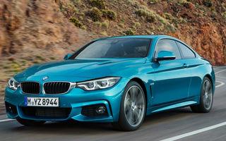 BMW Seria 4 facelift: mici schimbări de design la exterior și interior pentru toată gama de versiuni a modelului de clasă medie