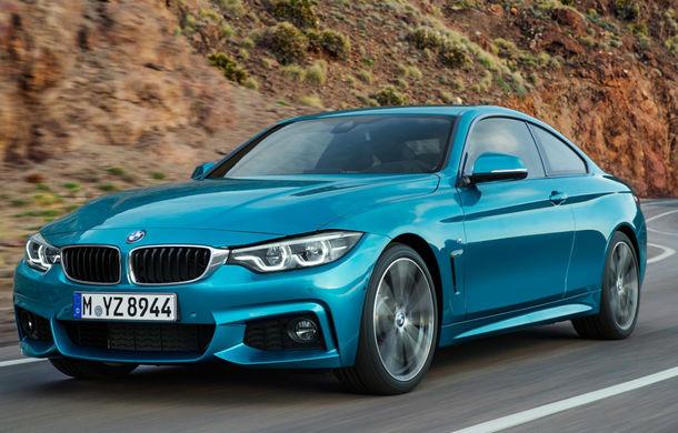 BMW Seria 4 facelift: mici schimbări de design la exterior și interior pentru toată gama de versiuni a modelului de clasă medie - Poza 1