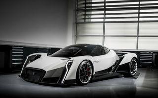 Vanda Dendrobium Concept: primul hypercar din Singapore are propulsie electrică şi tehnologie din F1 (update info şi foto)