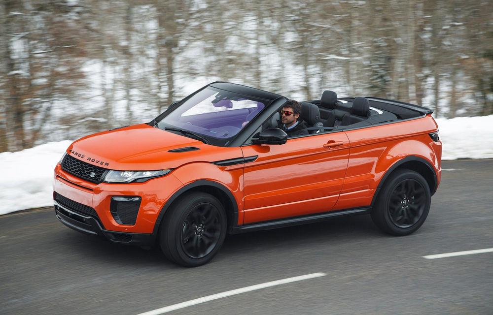 Lansare inedită în România: Range Rover Evoque Convertible pleacă de la 54.000 de euro - Poza 1