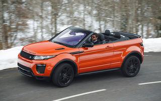 Lansare inedită în România: Range Rover Evoque Convertible pleacă de la 54.000 de euro