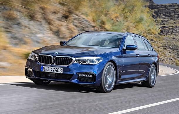 De familie germană: noua generație BMW Seria 5 primește versiunea break Touring - Poza 2