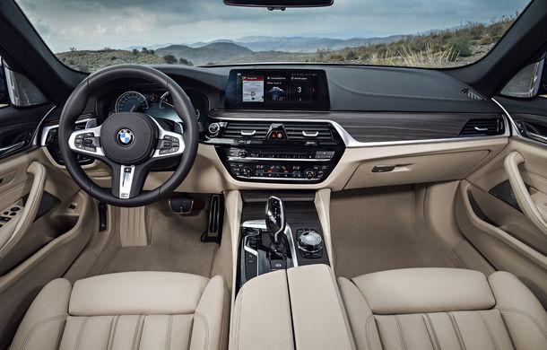 De familie germană: noua generație BMW Seria 5 primește versiunea break Touring - Poza 44