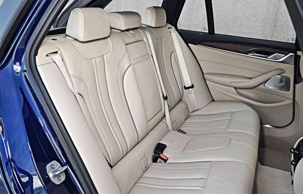 De familie germană: noua generație BMW Seria 5 primește versiunea break Touring - Poza 59