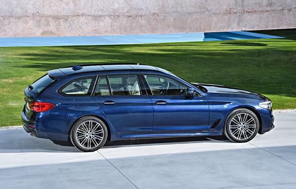 De familie germană: noua generație BMW Seria 5 primește versiunea break Touring - Poza 9
