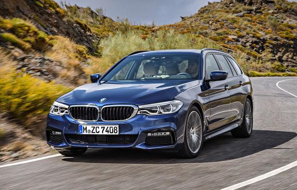 De familie germană: noua generație BMW Seria 5 primește versiunea break Touring - Poza 19