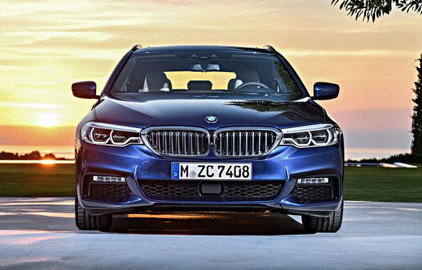 De familie germană: noua generație BMW Seria 5 primește versiunea break Touring - Poza 39