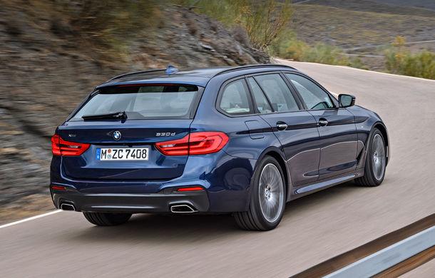 De familie germană: noua generație BMW Seria 5 primește versiunea break Touring - Poza 20
