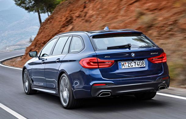 De familie germană: noua generație BMW Seria 5 primește versiunea break Touring - Poza 42