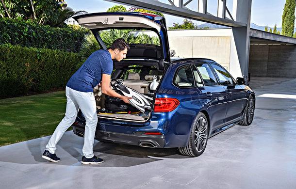 De familie germană: noua generație BMW Seria 5 primește versiunea break Touring - Poza 41