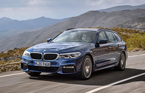 De familie germană: noua generație BMW Seria 5 primește versiunea break Touring - Poza 16