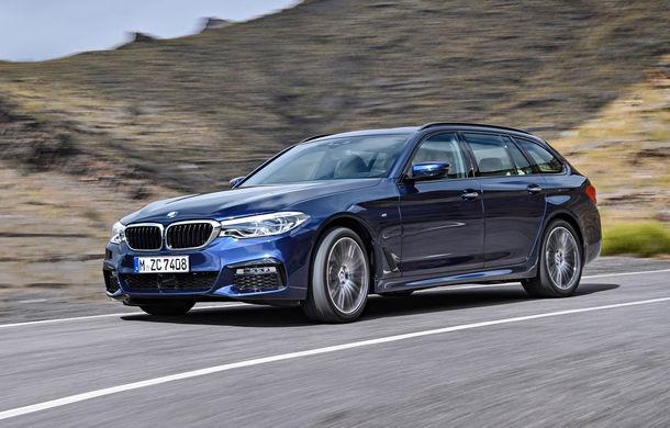 De familie germană: noua generație BMW Seria 5 primește versiunea break Touring - Poza 11