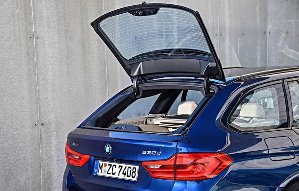 De familie germană: noua generație BMW Seria 5 primește versiunea break Touring - Poza 68