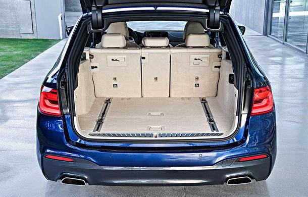 De familie germană: noua generație BMW Seria 5 primește versiunea break Touring - Poza 46