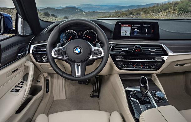 De familie germană: noua generație BMW Seria 5 primește versiunea break Touring - Poza 45
