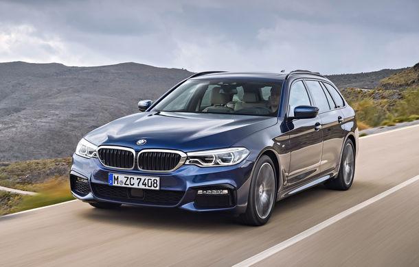 De familie germană: noua generație BMW Seria 5 primește versiunea break Touring - Poza 17