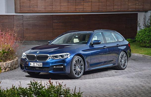 De familie germană: noua generație BMW Seria 5 primește versiunea break Touring - Poza 12