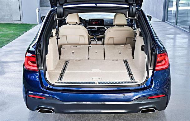 De familie germană: noua generație BMW Seria 5 primește versiunea break Touring - Poza 49