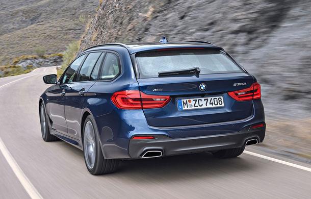 De familie germană: noua generație BMW Seria 5 primește versiunea break Touring - Poza 31