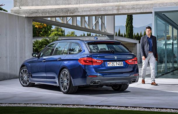 De familie germană: noua generație BMW Seria 5 primește versiunea break Touring - Poza 6