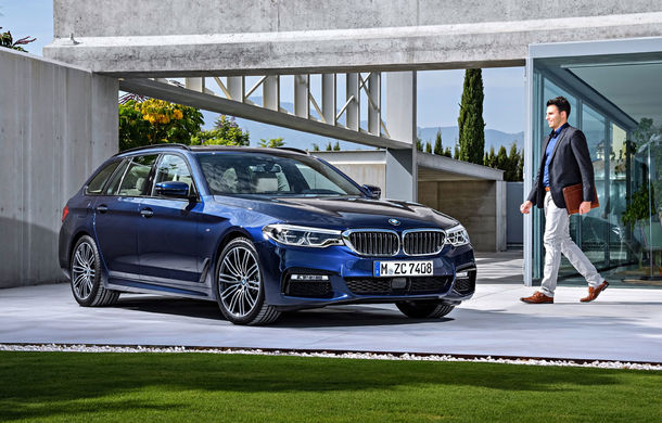 De familie germană: noua generație BMW Seria 5 primește versiunea break Touring - Poza 4