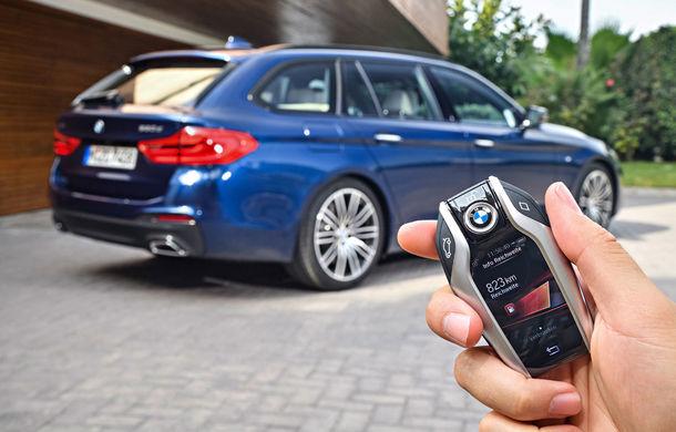 De familie germană: noua generație BMW Seria 5 primește versiunea break Touring - Poza 43