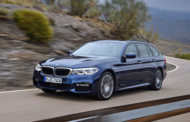 De familie germană: noua generație BMW Seria 5 primește versiunea break Touring - Poza 18