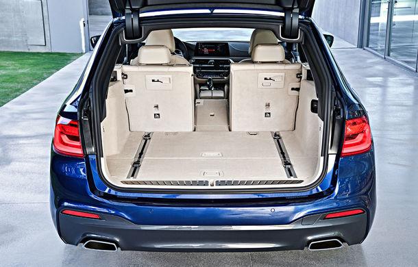 De familie germană: noua generație BMW Seria 5 primește versiunea break Touring - Poza 48