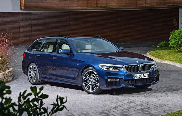 De familie germană: noua generație BMW Seria 5 primește versiunea break Touring - Poza 15