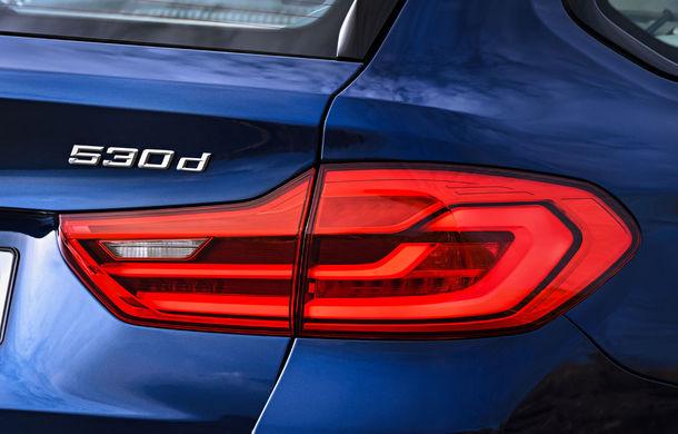De familie germană: noua generație BMW Seria 5 primește versiunea break Touring - Poza 23