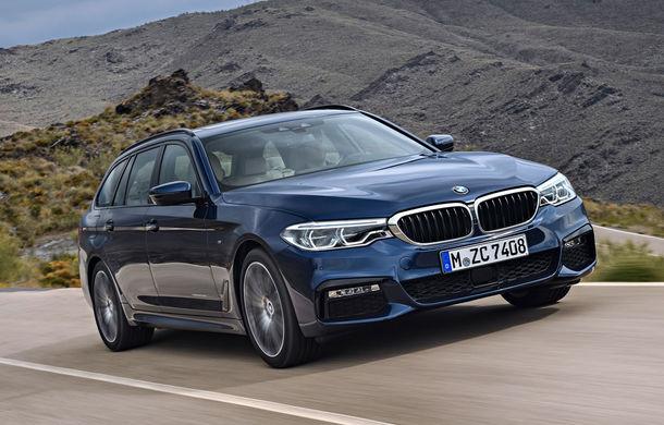 De familie germană: noua generație BMW Seria 5 primește versiunea break Touring - Poza 30