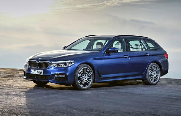 De familie germană: noua generație BMW Seria 5 primește versiunea break Touring - Poza 22