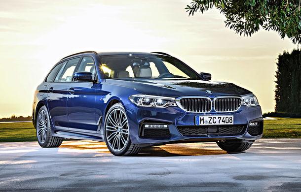 De familie germană: noua generație BMW Seria 5 primește versiunea break Touring - Poza 40