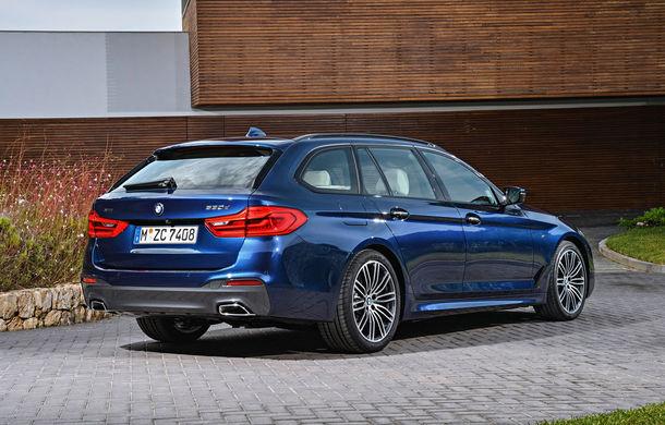 De familie germană: noua generație BMW Seria 5 primește versiunea break Touring - Poza 13