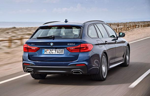 De familie germană: noua generație BMW Seria 5 primește versiunea break Touring - Poza 37