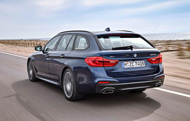 De familie germană: noua generație BMW Seria 5 primește versiunea break Touring - Poza 38