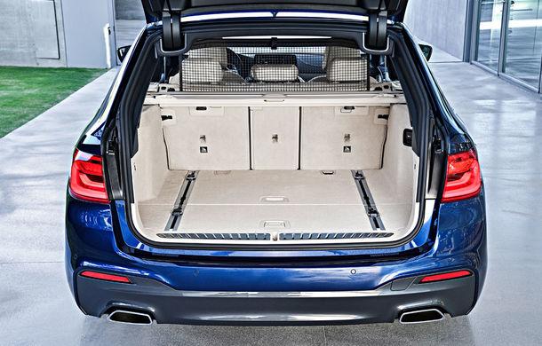 De familie germană: noua generație BMW Seria 5 primește versiunea break Touring - Poza 52