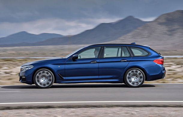 De familie germană: noua generație BMW Seria 5 primește versiunea break Touring - Poza 34