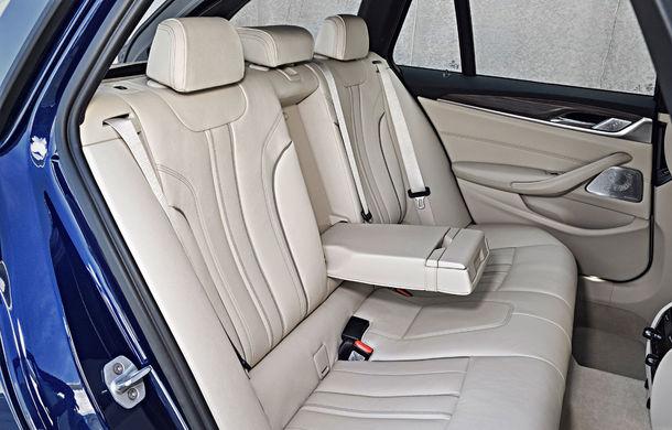 De familie germană: noua generație BMW Seria 5 primește versiunea break Touring - Poza 61